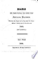 Diario del viaje fluvial del padre fray Jesualdo Maccheti, misionero del Colegio de la Paz, desde San Buenaventura y Reyes hasta el Atlántico en 1869