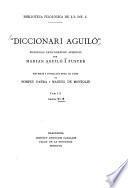 Diccionari Aguiló