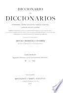 Diccionario castellano con las correspondencias extranjeras.-t. 3-4. Vocabulario-resumen con las correspondencias castellanas