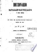 Diccionario catalan-castellano y vice versa[sic]