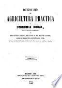 Diccionario de agricultura práctica y economía rural: y V : 1853 (Imprenta de Antonio Pérez Dubrull)