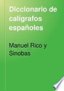 Diccionario de calígrafos españoles
