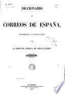 Diccionario de correos de España