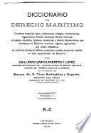 Diccionario de derecho marítimo: A-C