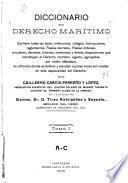 Diccionario de derecho marítimo