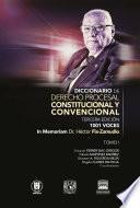 Diccionario de Derecho Procesal Constitucional y Convencional, tercera edición, 1001 voces.