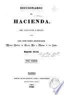 Diccionario de Hacienda, con aplicación a España