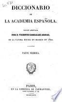 Diccionario de la Academie Española