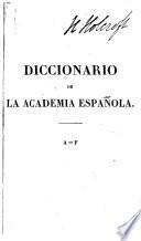 Diccionario [de la lengua castellana].