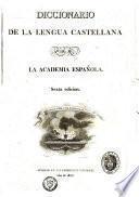 Diccionario de la lengua castellana por la Academia española