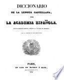 Diccionario De La Lengua Castellana, Por La Academia Espanola