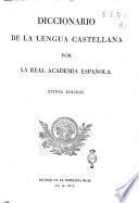 Diccionario de la lengua castellana por la Real Academia Española