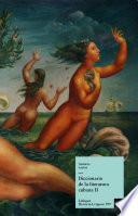 Diccionario de la literatura cubana II