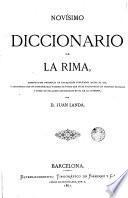 Diccionario de la rima