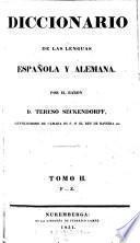Diccionario de las lenguas espanola y alemana