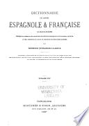 Diccionario de las lenguas española y francesa comparadas: Dictionnaire espagnol-français