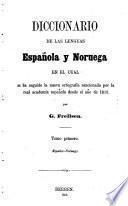 Diccionario de las lenguas española y noruega