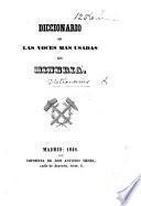 Diccionario de las voces mas usadas en mineria