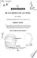 Diccionario de los delitos y de las penas