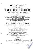 Diccionario de los términos técnicos usados en medicina