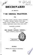 Diccionario de medicina y de cirugía prácticas