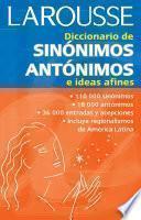 Diccionario de Sinónimos, Antónimos e ideas afines