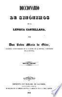 Diccionario de sinónimos de la lengua castellana