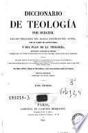 Diccionario de teología, 1