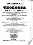 Diccionario de teología: Q-Zui (1846. 586 p.)