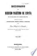 Diccionario del Derecho Marítimo de España