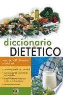Diccionario dietético