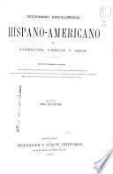 Diccionario enciclopedico hispano-americano de literatura, ciencias y artes