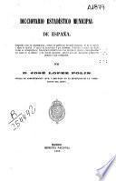 Diccionario estadístico municipal de España