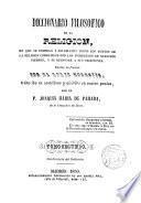 Diccionario filosófico de la religión