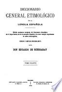 Diccionario general etimológico de la lengua española