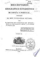 Diccionario geográfico-estadístico de España y Portugal: (492 p., 2 map. pleg.)