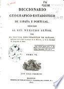 Diccionario geográfico-estadístico de España y Portugal: (518 p., [2] map. pleg.)