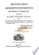 Diccionario geografico-estadistico de Espana y Portugal