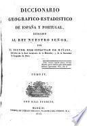 Diccionario Geografico-Estadistico de España y Portugal