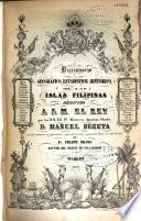 Diccionario geografico, estadistico, historico de las islas Filipinas...
