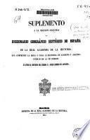 Diccionario geográfico-histórico de España