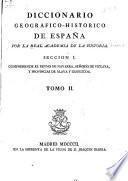 Diccionario geogrático-histórico de España