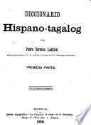 Diccionario hispano-tagalog