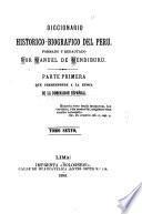 Diccionario historico-biografico del Peru