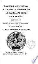 Diccionario histórico de los más ilustres profesores