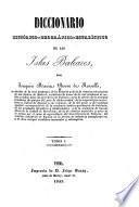 Diccionario histórico-geografico-estadístico de las Islas Baleares
