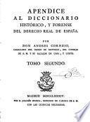 Diccionario historico y forense del derecho real de Espana
