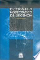 DICCIONARIO HOMEOPÁTICO DE URGENCIA