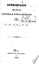 Diccionario manual castellano-catalan