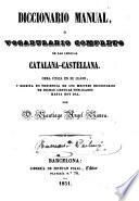 Diccionario manual, o Vocabulario completo de las lenguas catalana-castellana